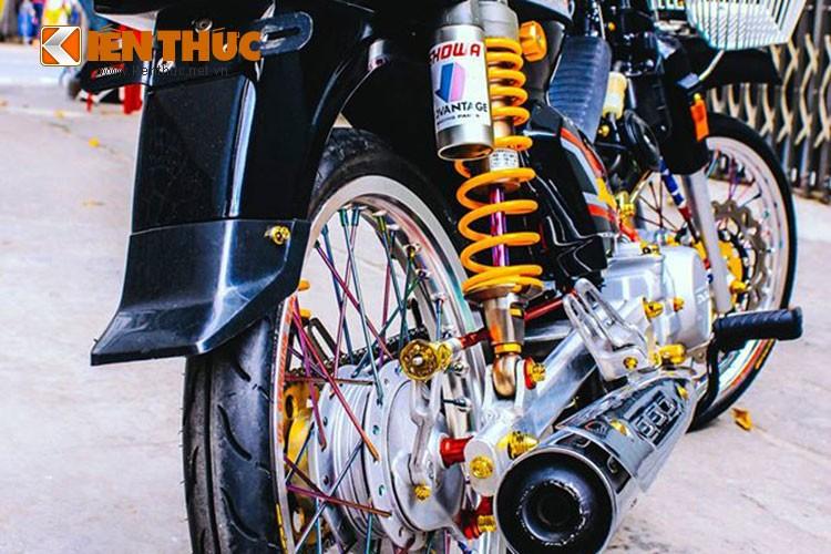Honda Dream chien do phong ca tinh cua dan choi Nam bo-Hinh-6