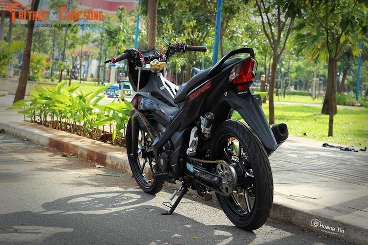 Dan choi Viet chi 200 trieu dong do xe may Honda Sonic-Hinh-9