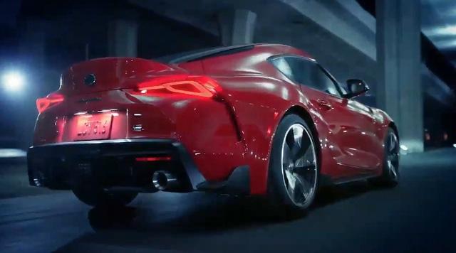 Lỗi giao tiếp, Toyota làm lộ clip hoàn chỉnh của Supra 2020 - Ảnh 3.