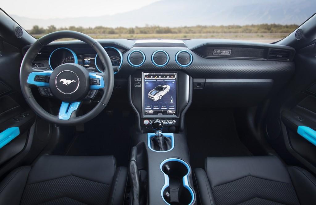 Thị trường xe - Ford ra mắt Mustang chạy điện với mô-men xoắn 1.355 Nm (Hình 6).