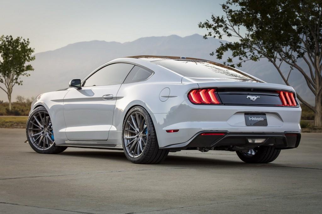 Thị trường xe - Ford ra mắt Mustang chạy điện với mô-men xoắn 1.355 Nm (Hình 4).