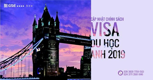 Cập nhật chính sách visa và học bổng du học Anh 2019 - Ảnh 1.
