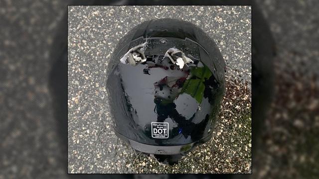 Tài xế mô tô đen đủi mất mạng vì bị sét đánh trúng đầu - Ảnh 1.