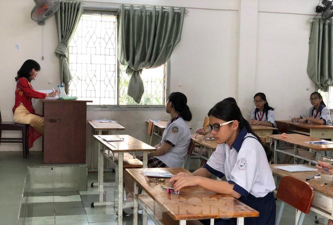 Thí sinh dự thi vào lớp 10 tại TPHCM năm học 2019