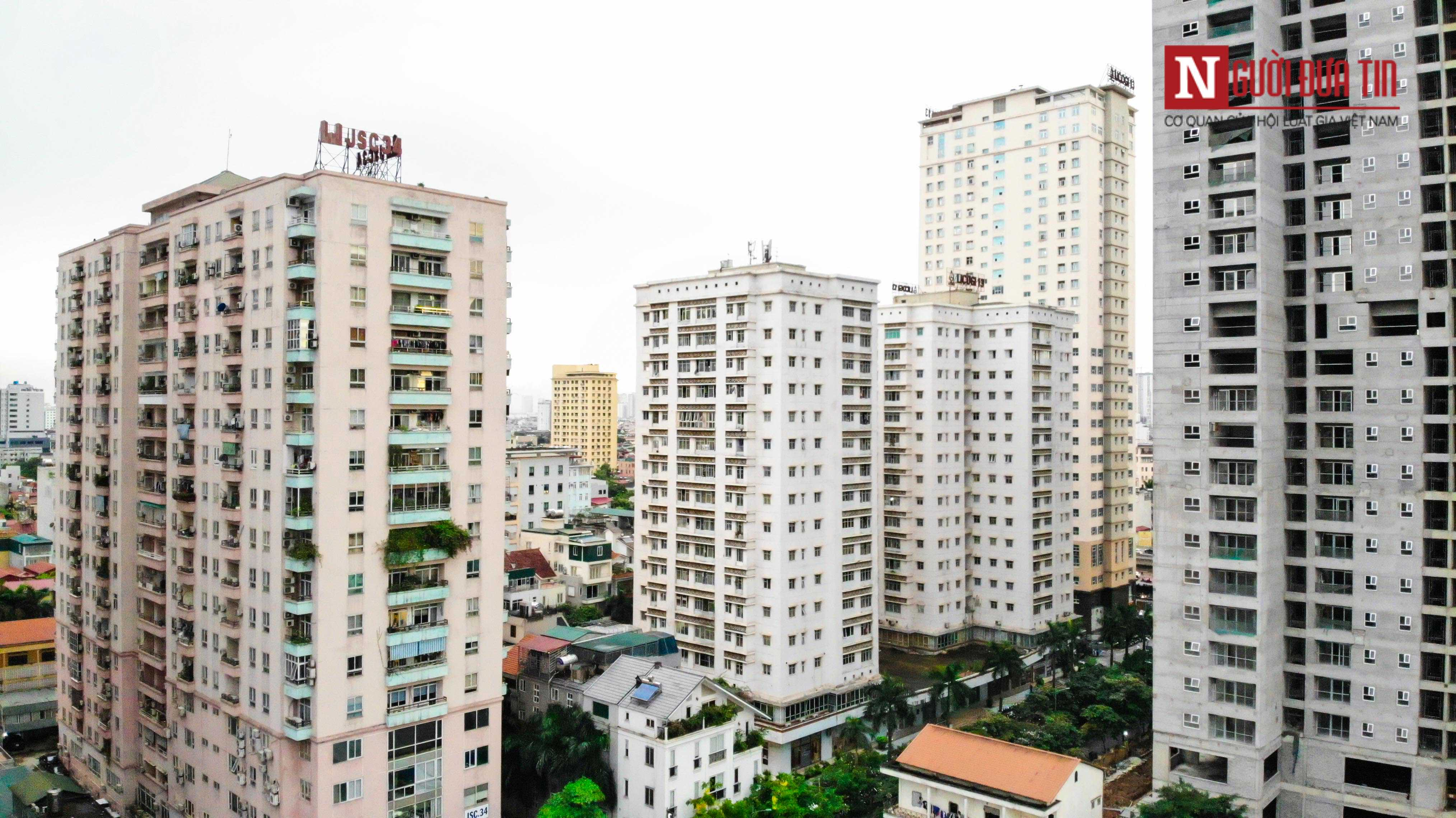 Bất động sản - Cận cảnh tuyến đường dài 2km cõng tới 40 toà nhà cao ốc tại Thủ đô (Hình 4).