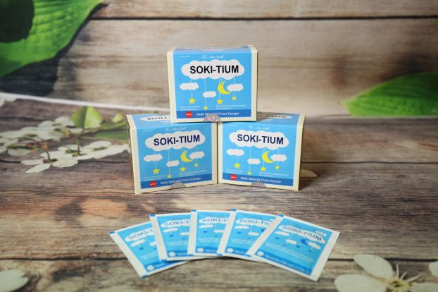 Soki Tium là sản phẩm ứng dụng Lactium từ sữa giúp trẻ ngủ ngon an toàn