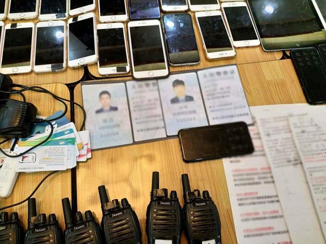 An ninh - Hình sự - Băt nhóm người Trung Quốc giả danh cán bộ nhiều ngành lừa đảo, chiếm đoạt tài sản