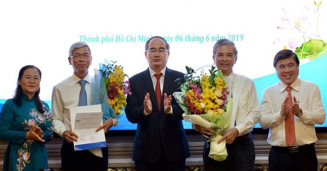 Phân công nhiệm vụ cho 2 tân Phó Chủ tịch UBND TPHCM  - ảnh 1