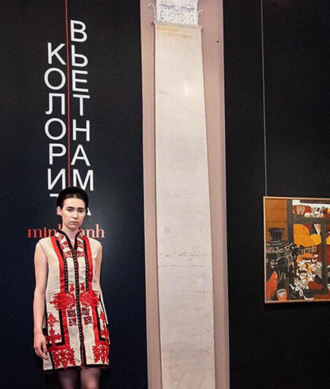 Minh Hạnh và cuộc trình diễn ở Bảo tàng Phương Đông (Nga) - ảnh 2