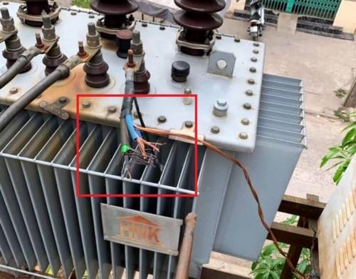 An ninh - Hình sự - Nam Định: 13 khu dân cư bị cúp điện vì kẻ gian cắt trộm cáp