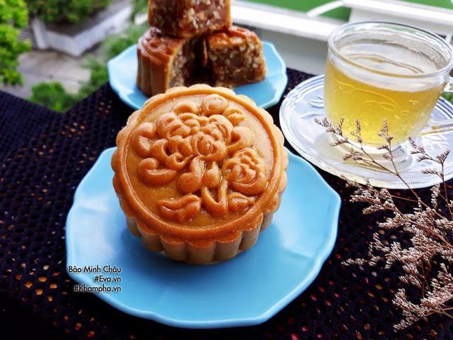 Cách làm bánh nướng truyền thống tuyệt ngon lại đơn giản cho Tết Trung thu - Ảnh 10.