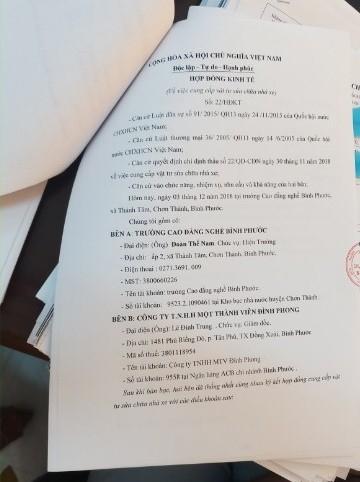Hiệu trưởng trường CĐ bị tố lập khống chứng từ, danh sách sinh viên - ảnh 2