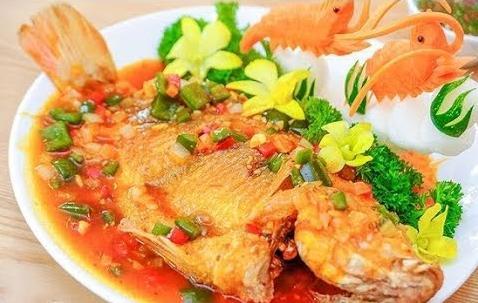 Tối nay ăn gì: Cá diêu hồng sốt cà chua chuẩn vị, không tanh 2