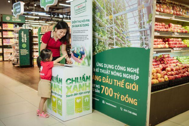 Vị 'khách hàng xanh' đặc biệt ở siêu thị VinMart 6
