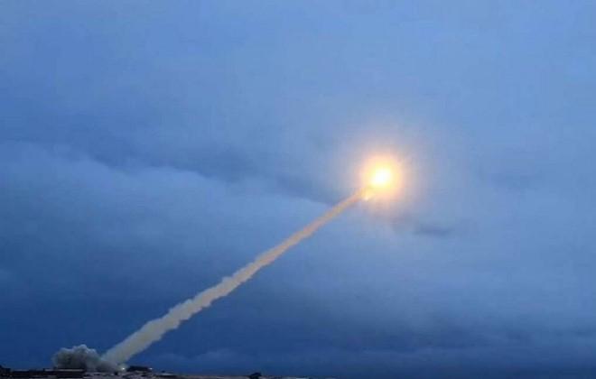 Một cuộc thử tên lửa Burevestnik. Ảnh: Bộ quốc phòng Nga