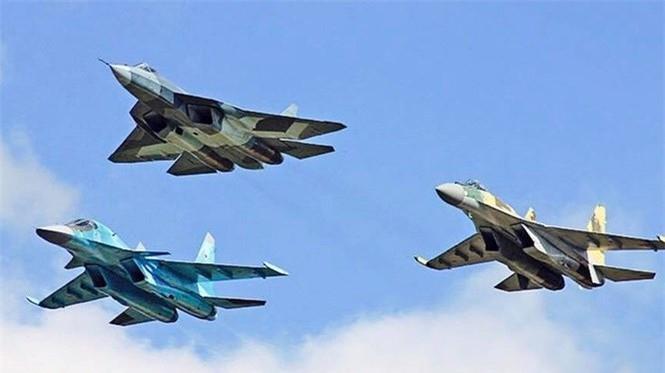 Sức mạnh têm kích Su-57 được biên chế cho quân đội Nga - ảnh 4
