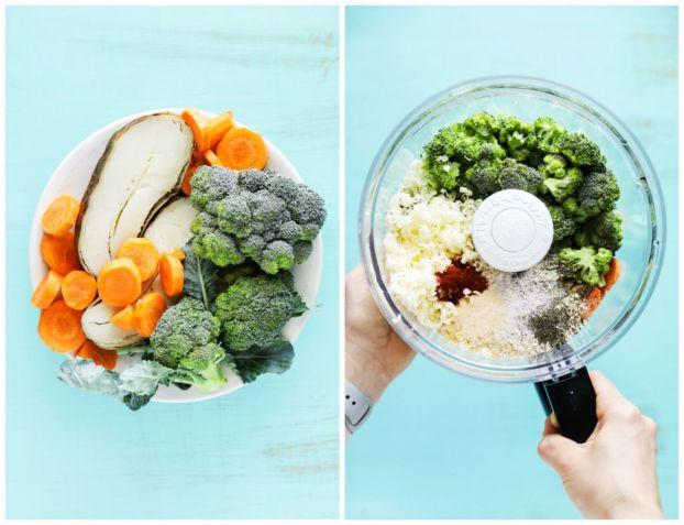 Hấp, trần rau củ trước khi xay, ép nấu cháo cho trẻ sẽ không làm mất vi chất dinh dưỡng