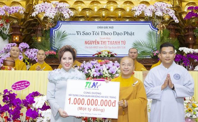 Tập đoàn TLM trao tặng 800 phần quà cho người khiếm thị  - ảnh 1